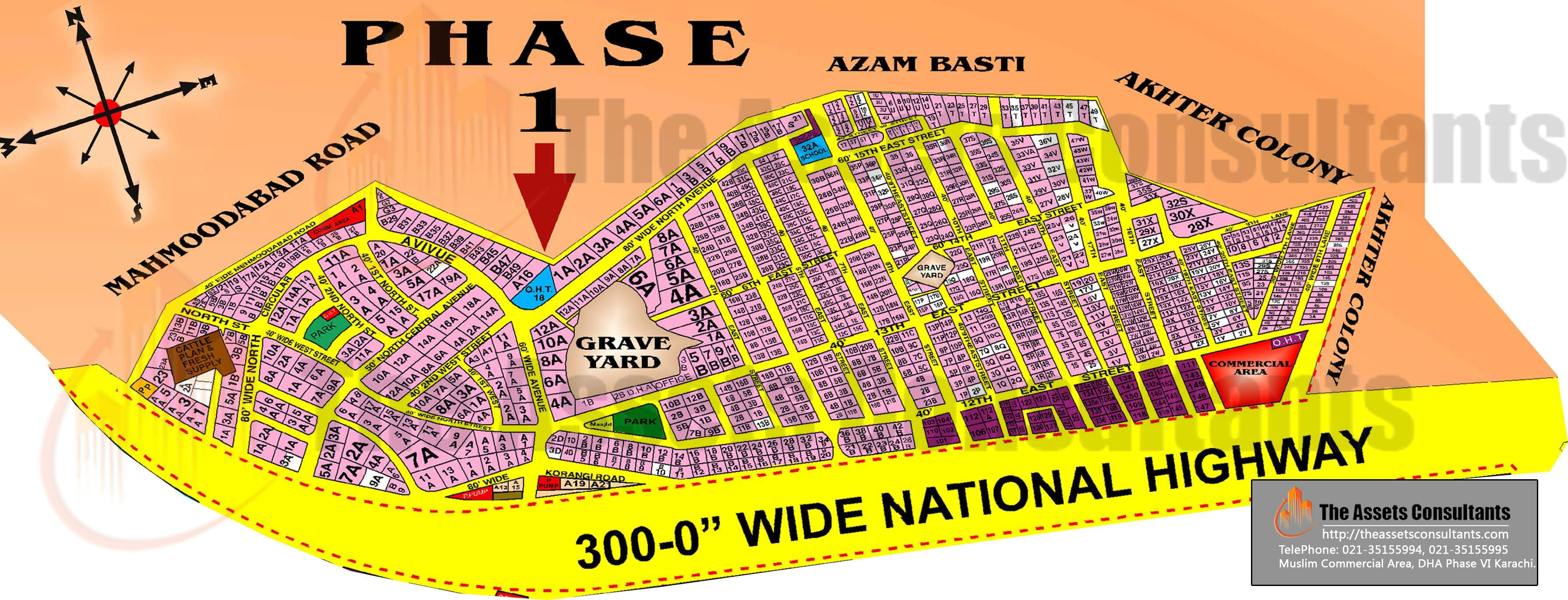 dha-phase1-map-karachi